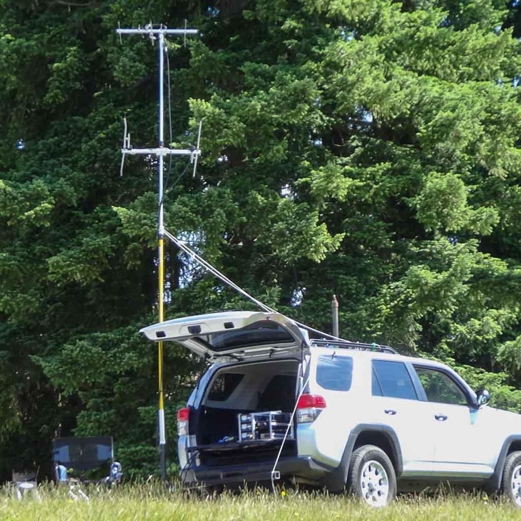 Ham Radio Rover Mast