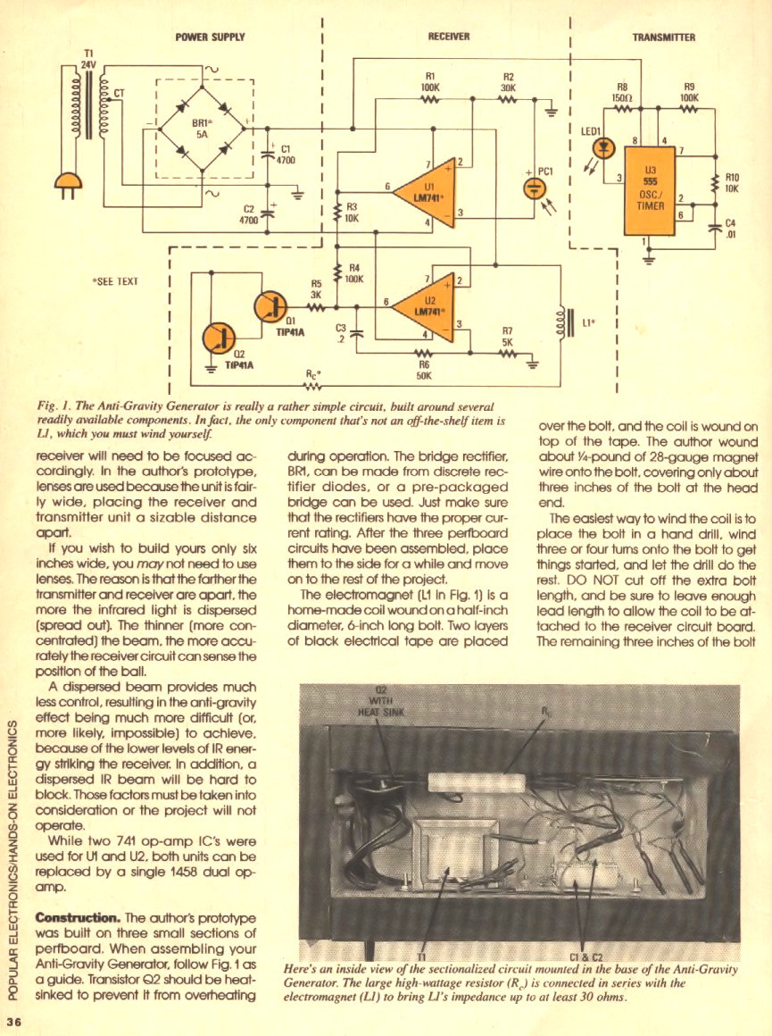 Page on Schematic Diagram